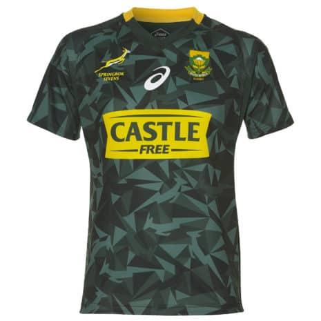 Springbok Sevens Mens Home Jersey 2018