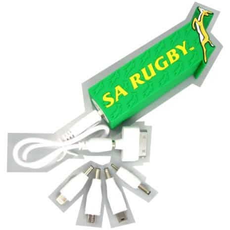 SA Rugby Portable Power bank_