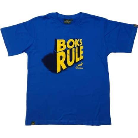 Springbok SS kids Crew T-Shirt Blue