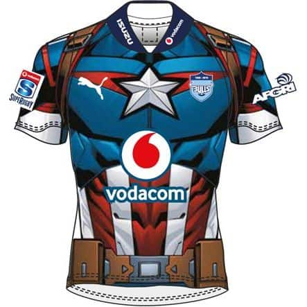 Captain America Mens Jersey Super rugby