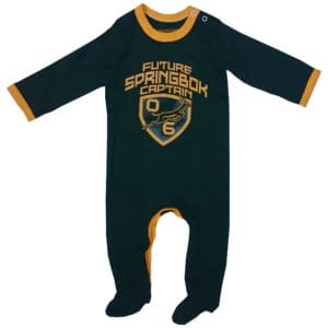 Springbok Future Captain Babygrow