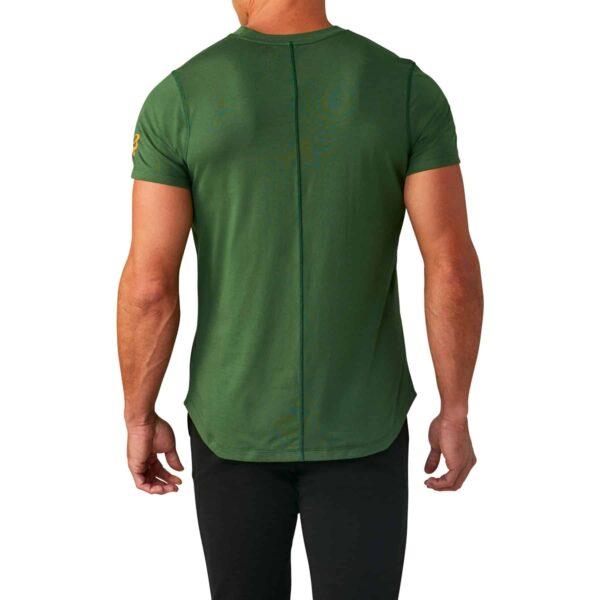 Springbok Mens Graphic Tee Green