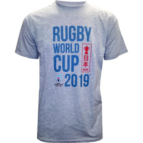 RWC 2019 MensT-shirt Grey