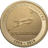 CM-INVICTUSC_Brass proof medallion_b