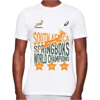 Springboks Champions t-shirt