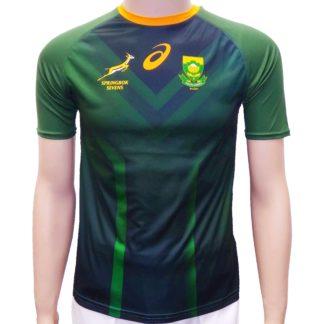 Springbok Sevens 2020 kids take down jersey fan shirt_front