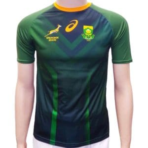 Springbok Sevens 2020 kids take down jersey fan shirt_front