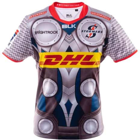 DHL Stormers Thor jersey 2020_front