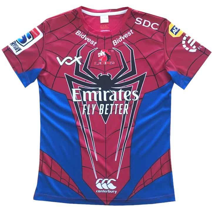 Superhero Kids Jersey Lions Spiderman