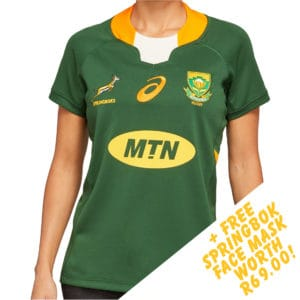 Springbok Womens Home Jersey 2020_face mask special_1