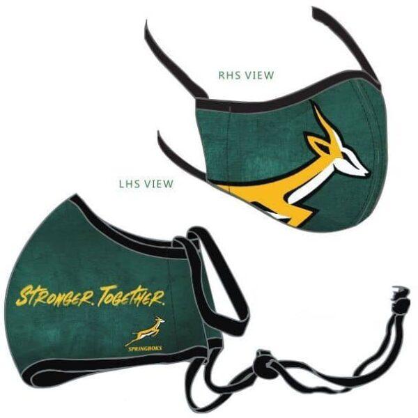 Springboks Washable Face Mask