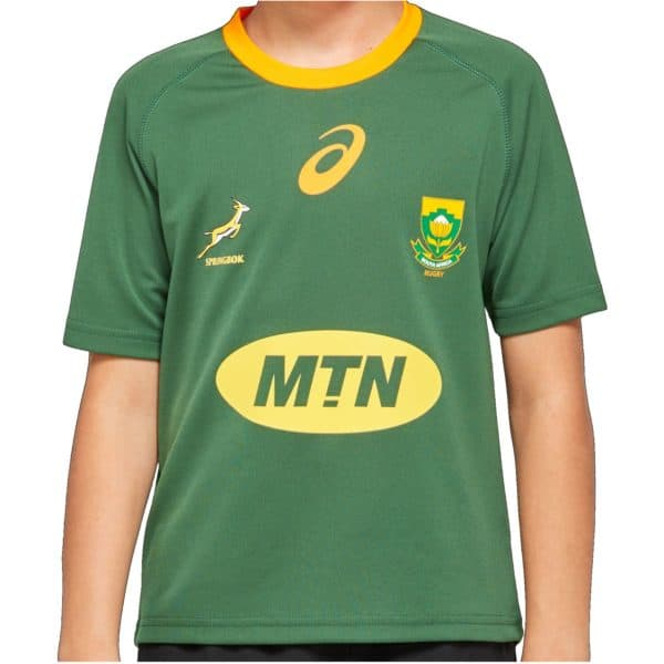 Springbok Kids Take Down Jersey 2020_front