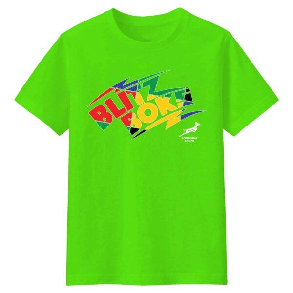 Blitzboks Kids Lime Tshirt