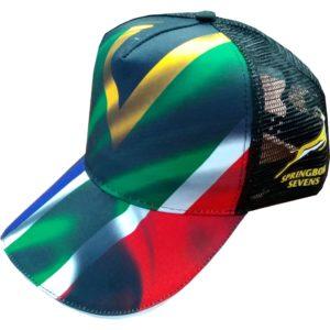 SA Flag Trucker Cap
