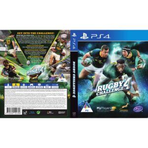 Rugby Challenge 4 - PS4_back