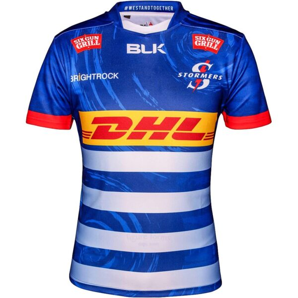 2021 DHL Stormers Home jersey_front